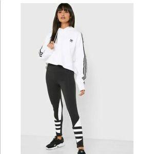 NWT Adidas Cropped Hoody Size M